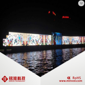 led display p25 mesh screen led outdoors transparent facade lighting products