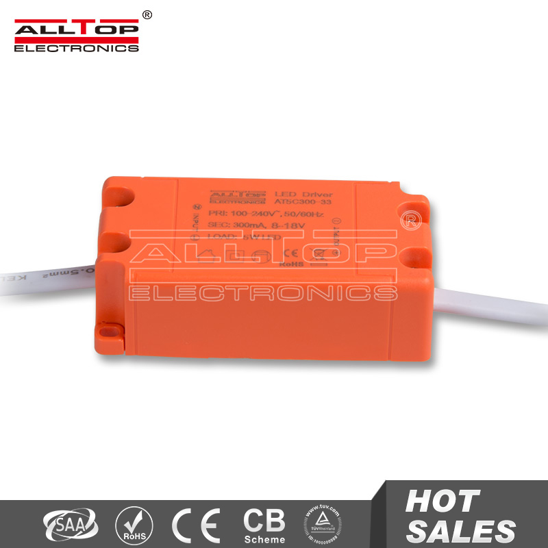 Constant current 300mA 18v 5w mini led driver