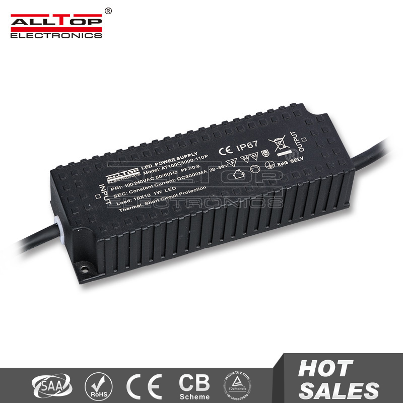 High quality constant current 36v 100w waterproof led driver