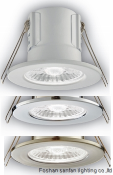 LED downlight IP65& fire rated & anti glare