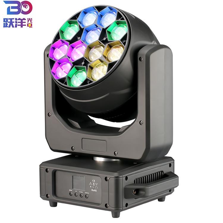 12X40W zoom wash moving head light