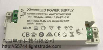 XQKEDHO24S0300NR profesional manufacturer of LED ighting alve power