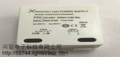 XQKEDW006S0200NS profesional manufacturer of LED ighting alve power