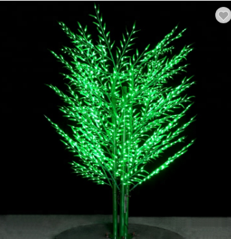 2.5m super quality outdoor christmas decoration wedding artificial led bamboo tree light