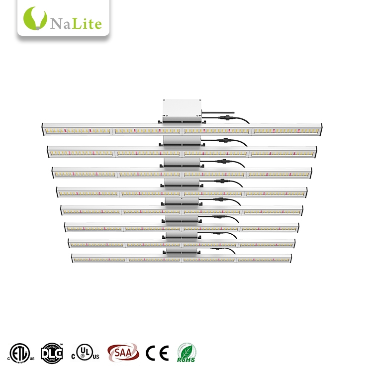 LED Grow Light 8 Bars With Full Spectrum And Bluetooth Wifi For Plants Greenhouse PL054