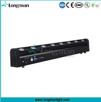 high power rohs 8*10w rgb moving head magnetic led light bar