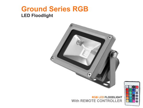 RGB ground series with LED Floodlight
