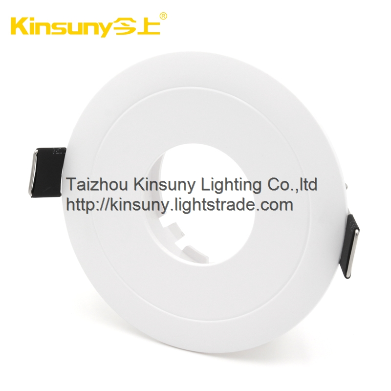 Round Shape Full White Housing Led Downlight Golden Light Used for Shop