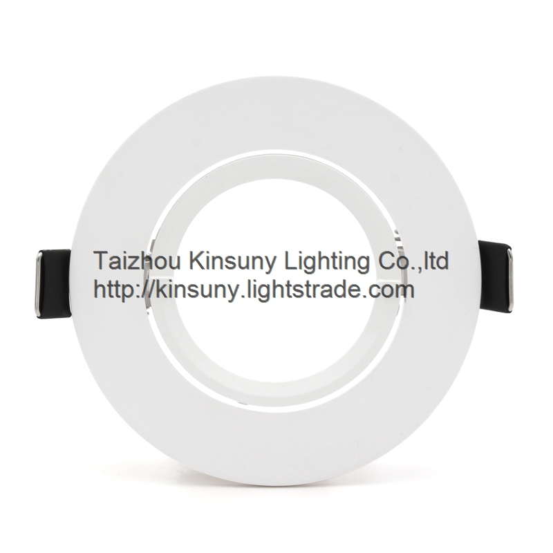 Indoor Commercial lighting 75mm led downlight recessed light housing