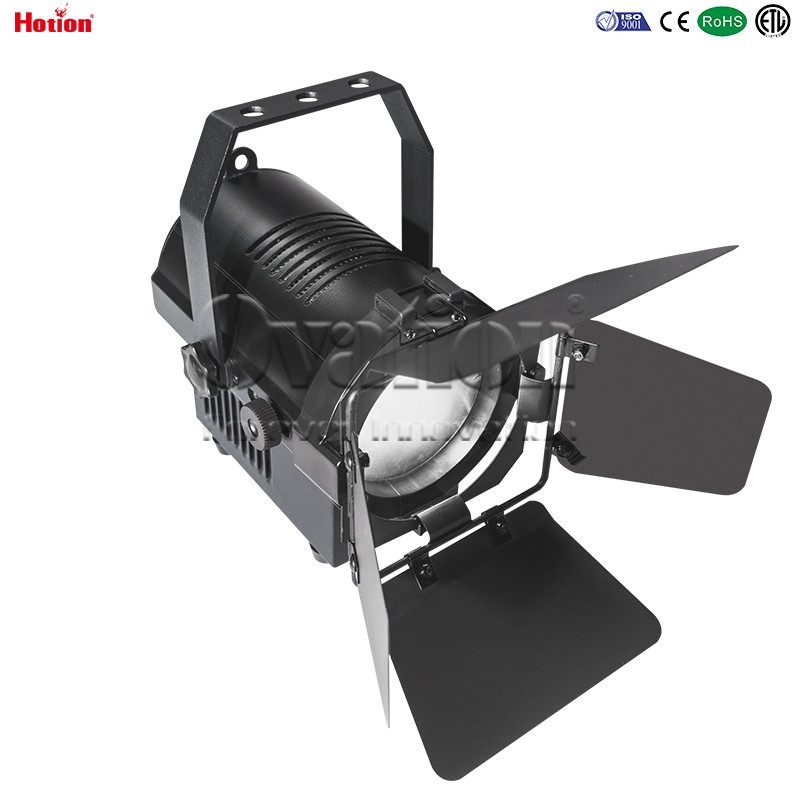 Ovation 50W tunable LED fresnel with zoom