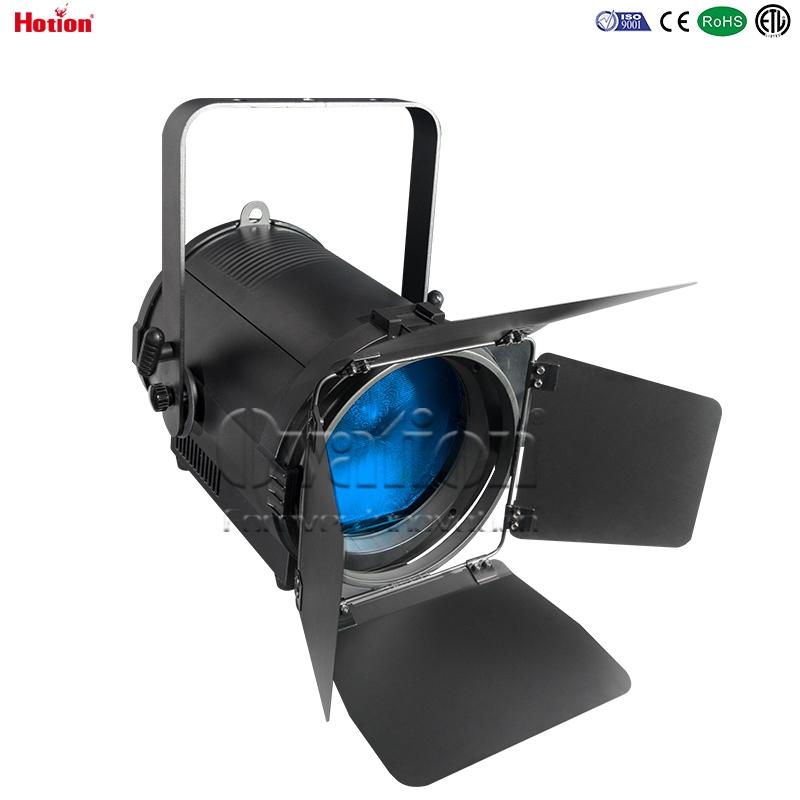 Ovation 200W RGBW LED fresnel with auto zoom