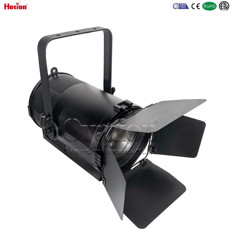 Ovation 300W 3200K 5600K LED fresnel with auto zoom