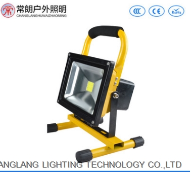 Portable 10W20W LED Charge Spotlight Camping Mobile Lighting Portable 100W Searchlight