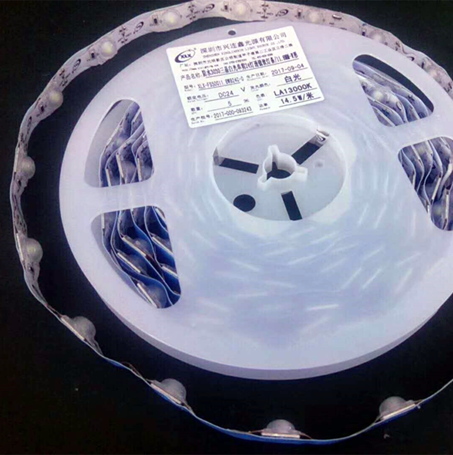 Patent product DC24V IP68 SMD 3030 LED strip light with lens