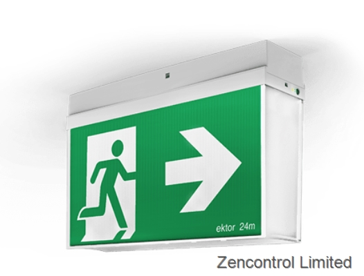 EMERGENGY EXIT SIGNS