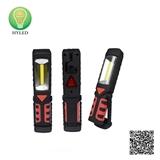 2-in-1 plastic 3W LED work light and LED flashlight