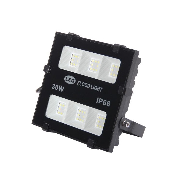 2019 new product 30w outdoor OEM available 100lm w IP66 2years warranty led flood light
