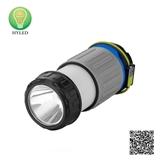 Li-battery Stretch LED camping light LED flashlight