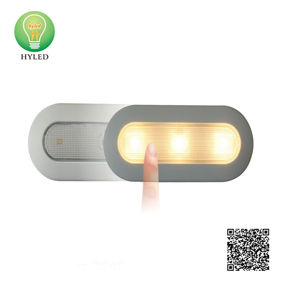 LED cabinet light with sensor