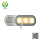 LED cabinet light with sensor