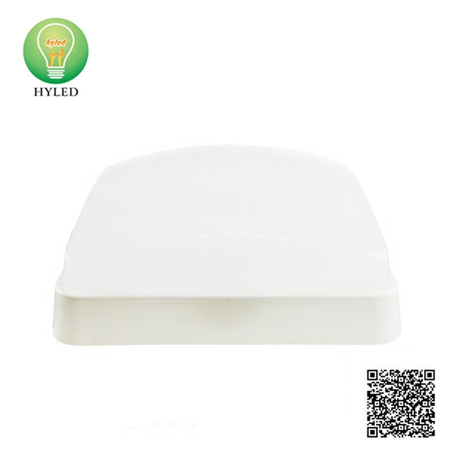 Square shape 12W 15W LED ceiling lamp