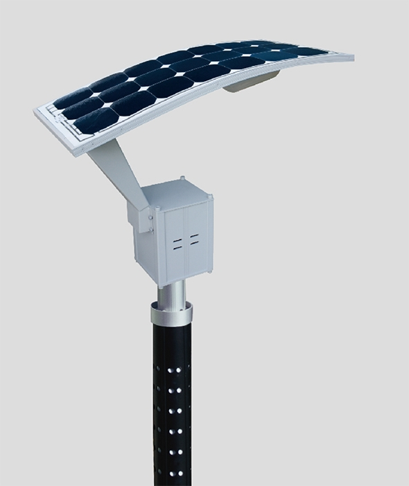 16w LED solar garden light with sunpower solar panels