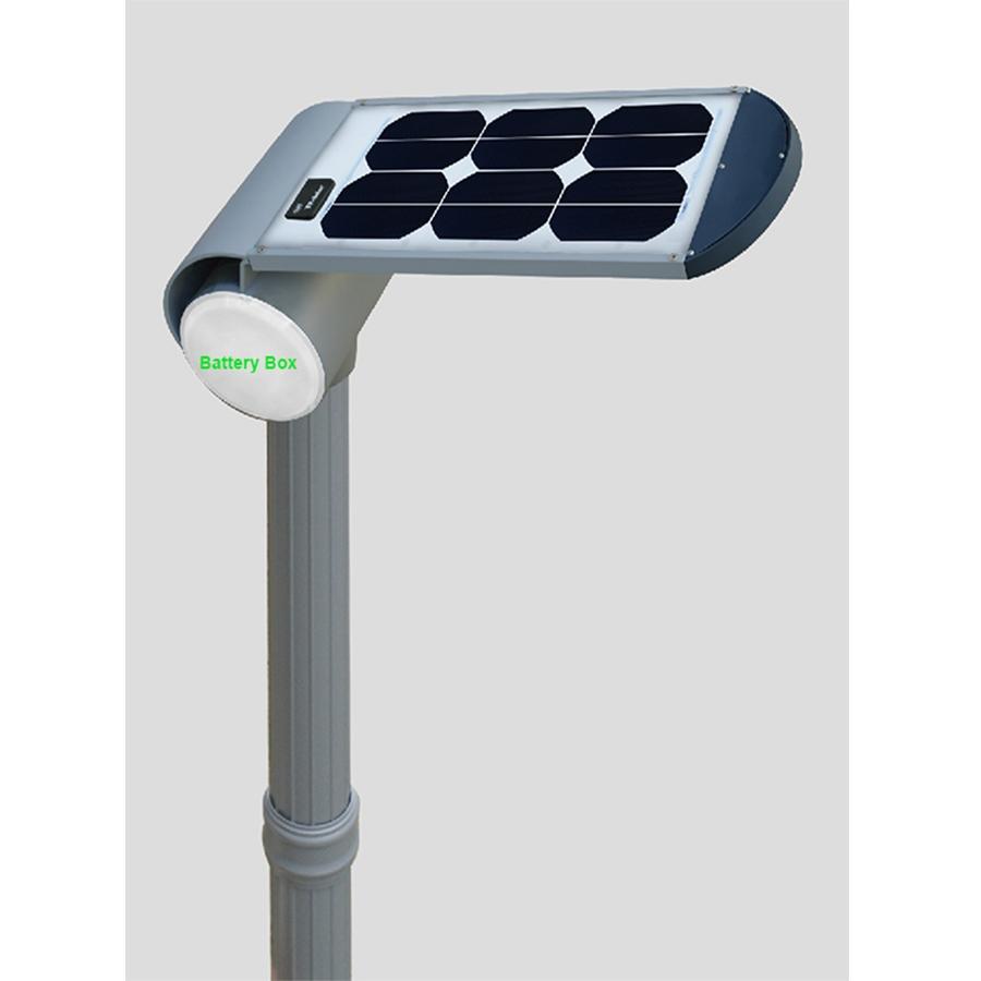 5.5W LED solar garden light with motion sensor
