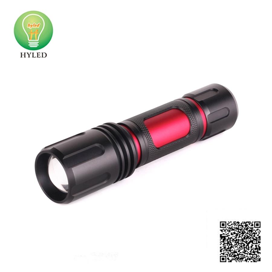 Aluminium material 10W LED flashlight