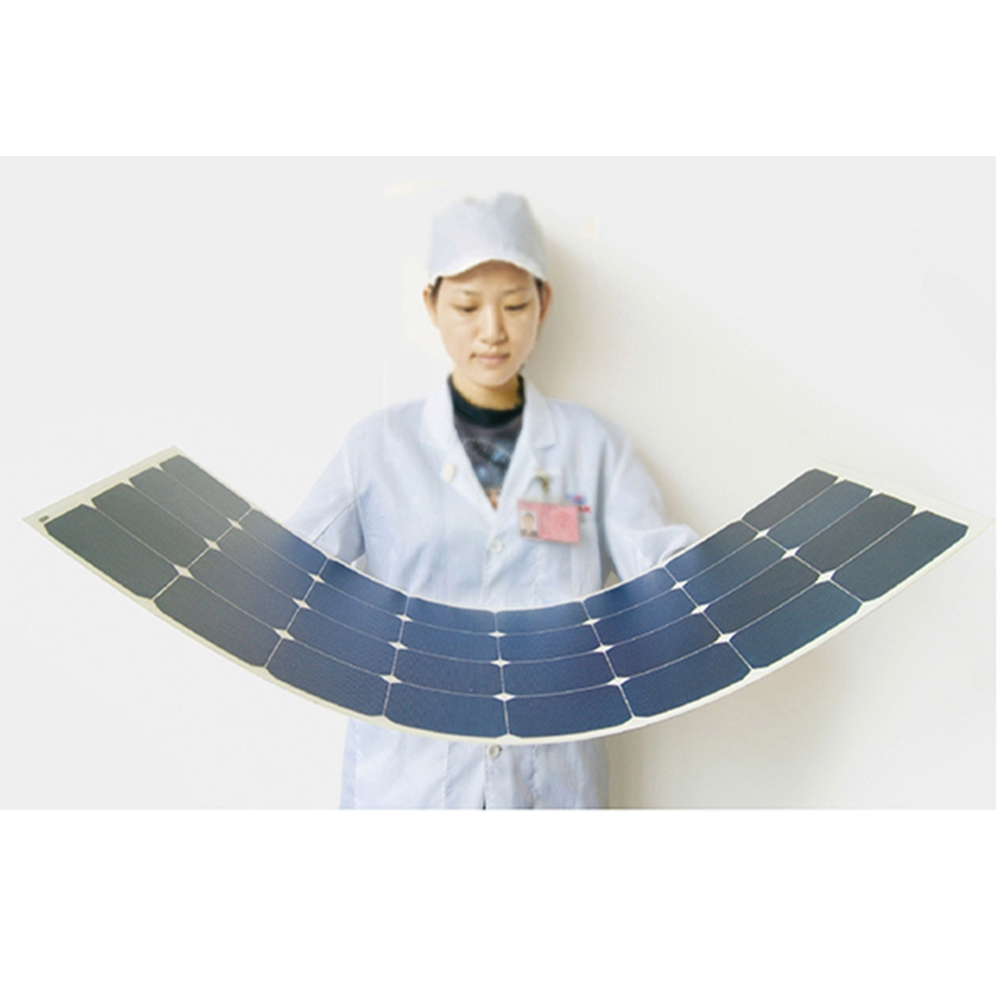 25W-150W Flexible solar panel for SUNPOWER solar panels with High efficiency solar panels