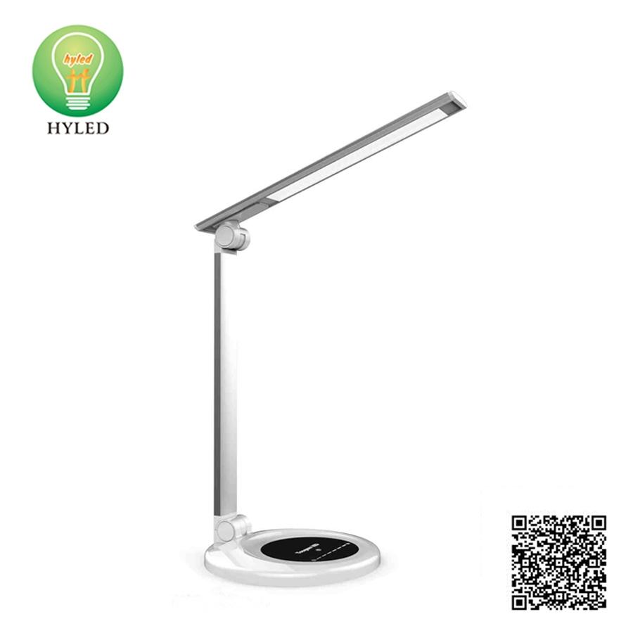 3 colors temperature 5 steps dimmable Smart LED desk lamp
