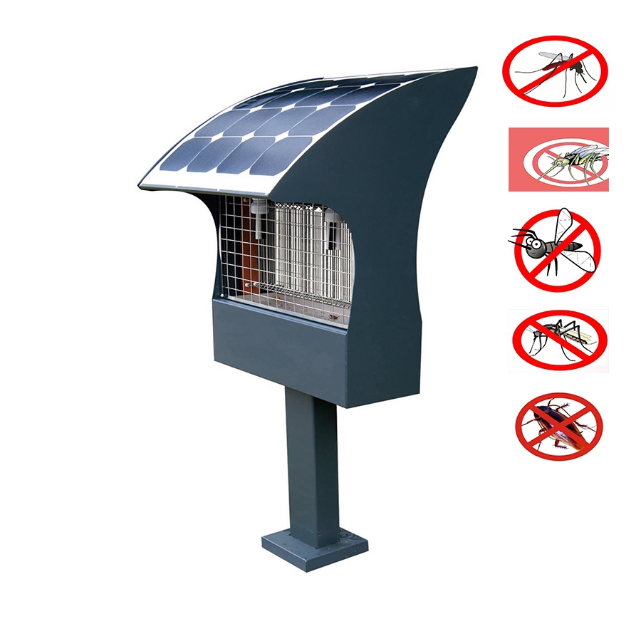 insect killer solar light with flexible solar panel