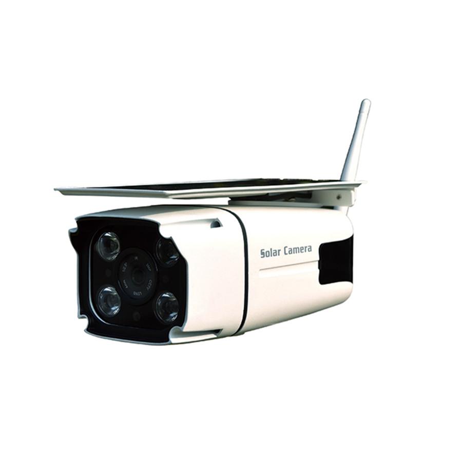 2.2W solar camera with motion sensor light