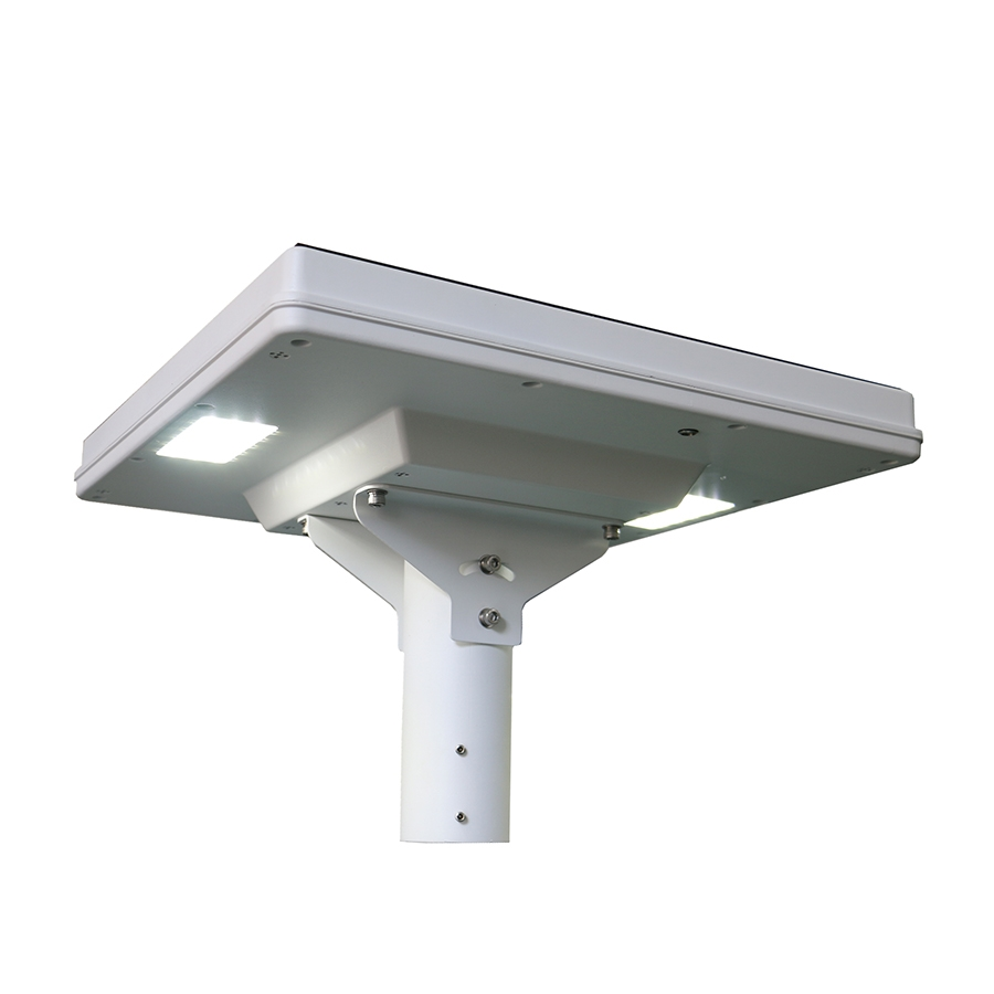 24w LED solar garden light with double lamp
