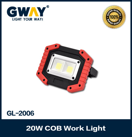 Rechargeable Dual COB LED Work Lights Floodlights for Outdoor Camping Hiking Emergency Car Repairing