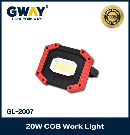 Nylon Case Rechargeable LED Work Light 1500Lm LED Flood Lights with USB Socket