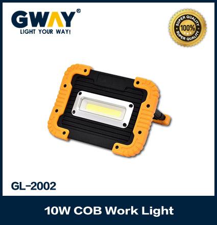 LED Work Light Waterproof Flood Lamp Power Bank Emergency Flashlight for USB