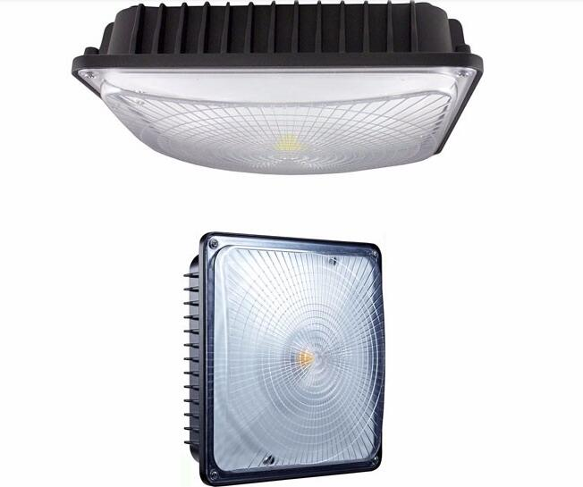 ETL UL DLC led canopy light 30w 60w 80w 100w 140w gas station led canopy light fixture