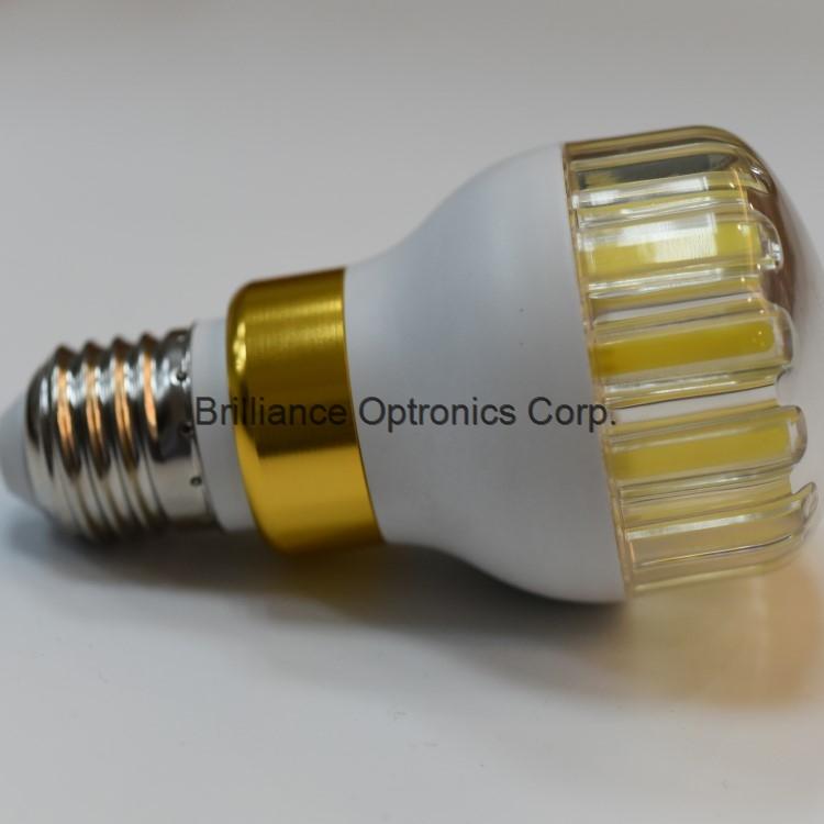 360 degree beam angle lighting 6W COB LED light bulb lamps