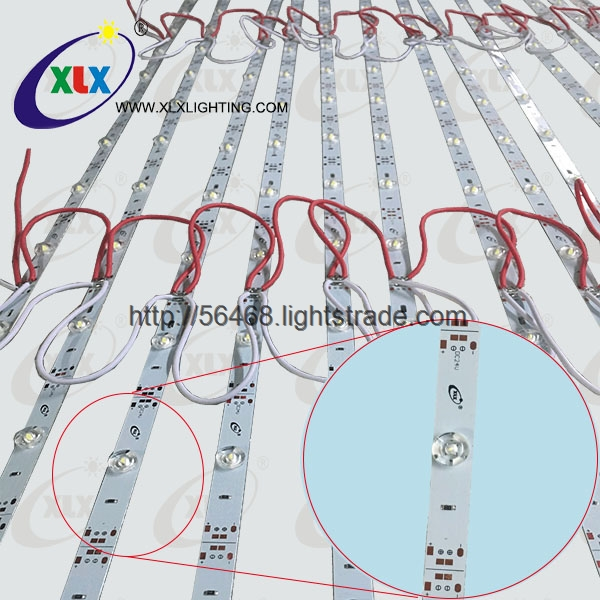 DC12v 24v SMD 3030 12leds m led strip rigids lights bar For slim lighting box strip