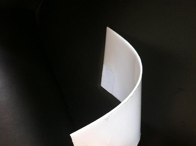 PP bending plate