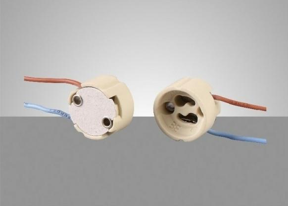 GU10 ceramic lampholder--E61