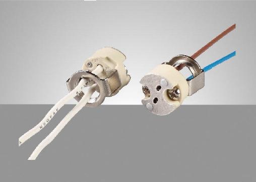 G4 G5.3 GY6.35 lampholder assembly-E32AB2