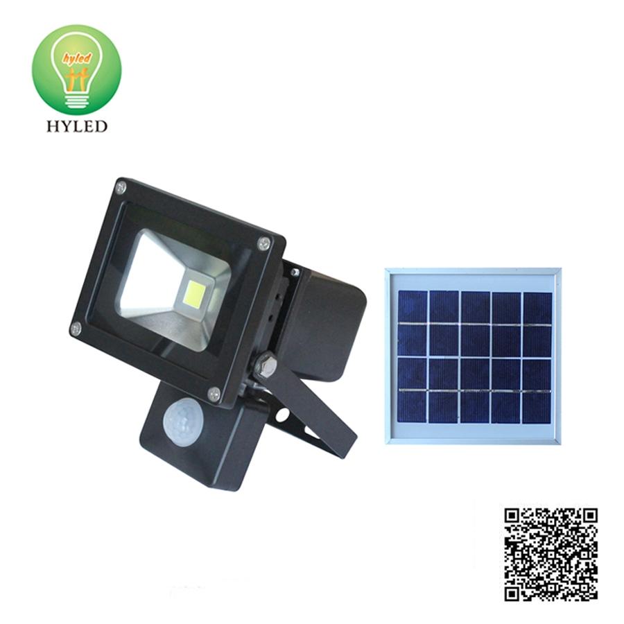 NEW Design 10W 20W 30W 50W LED solar flood light with PIR motion sensor