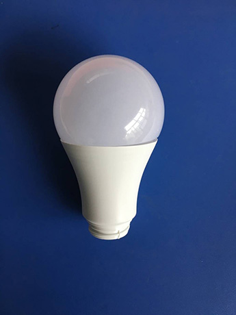 A60 12W LED bulbs housing parts with wholesale price