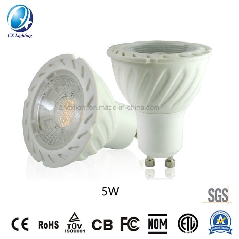 LED GU10 Spotlight Lamp SMD 5W Screw Surface Non-Dimmable 220-240V Eaqul to 40W