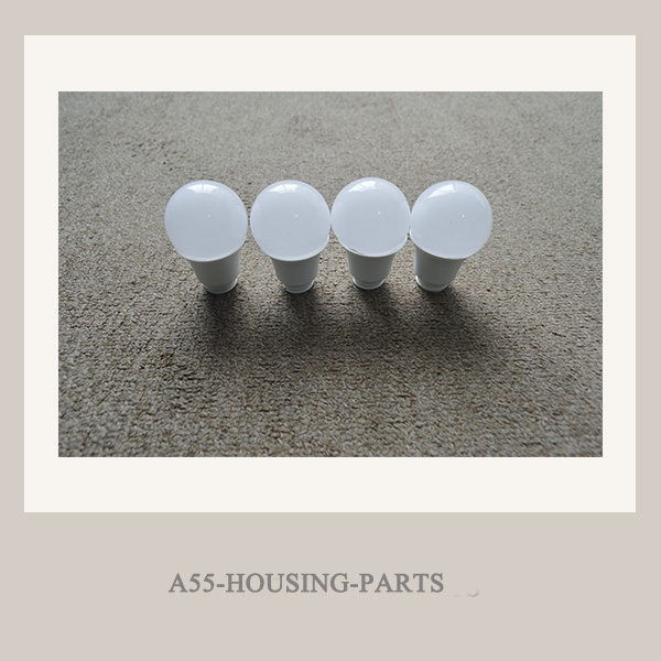 A55-9W led led bulb housing parts supplier in china
