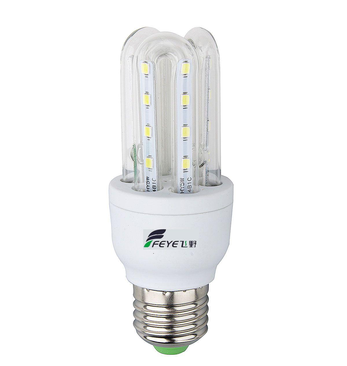 U Shape SMD Energy Saving Lamp 5w CE RoHS