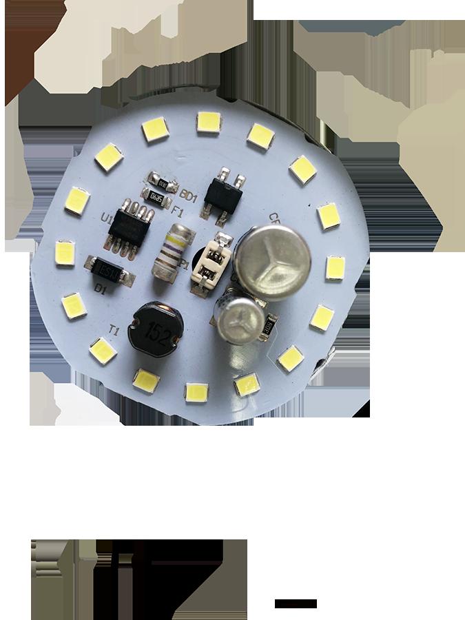 Free sample China supplier E27 B22 SKD DOB A60 15w led bulb LED lamp light