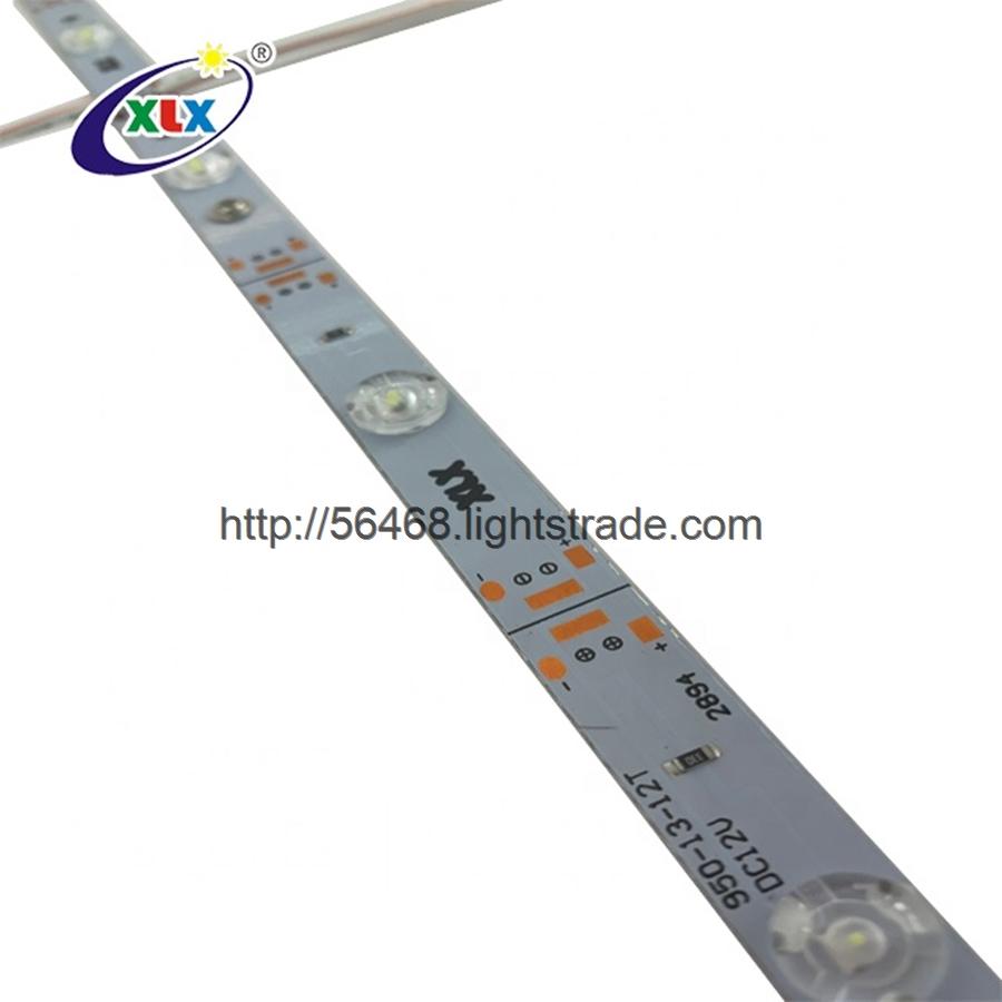 DC 12V 24V 13mm 17mm width Advertising light box strip DC12V SMD 2835 aluminum PCB led Ligh