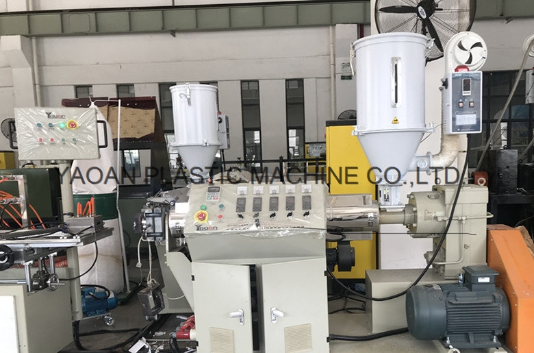 PC LED lampshade extrusion line